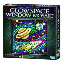 4M Glow Space Window Mosaic 04649 Educational Kit
