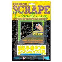 4M Holographic Scrape Doodling 03635 Educational Kit