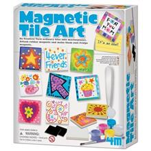 4M Magnetic Tile Art 04563 Educational Kit