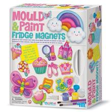 4M Mould And Paint Fridge Magnets 03536 Educational Kit