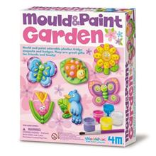 4M Mould And Paint Garden 03512 Educational Kit