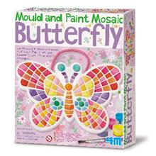 4M Mould And Paint Mosaic Butterfly 04615 Educational Kit