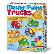 4M Mould And Paint Trucks 03538 Educational Kit