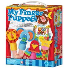 4M My Finger Puppets 04575 Educational Kit