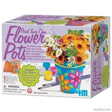 4M Paint A Flower Pot 04508 Educational Kit