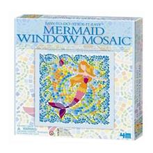4M Mermaid Window Mosaic 04565 Educational Kit