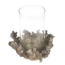 Exir Polyresin Coral Vase Candle Stick