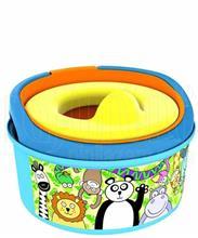 توالت فرنگی 3 کاره کودک فرست یرز (طرح باغ وحش) First Years