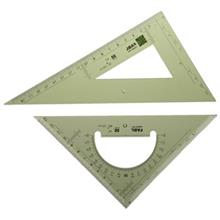 Fabl 30 Degree and 45 Degree Set Square Set Code FB410