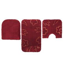 Farsh Maryam Paeez Set Bath Mat Pack of 3