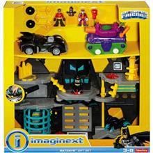 کيت ماشين بازي فيشر پرايس مدل Batcave Gift Set