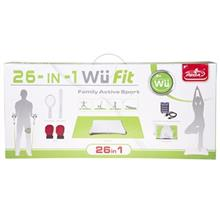 Fit Family Active Sport Pack for Nintendo Wii - 26 in 1