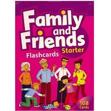 فلش کارت  Family And Friends Starter