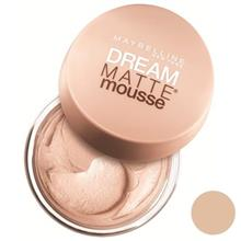 موس میبلین مدل Dream Matte Mousse Nude 21