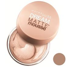 موس میبلین مدل Dream Matte Mousse Sun Beige 48
