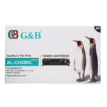 G and B AL-CH280C Plus Black Toner