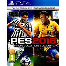بازی PES 2016 نسخه ی Day One Edition مخصوص PS4