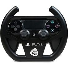 4gamers Compact Racing Wheel Gaming Console Accessory