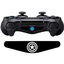 Wensoni Captain America DualShock 4 Lightbar Sticker