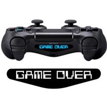 Wensoni Game Over DualShock 4 Lightbar Sticker