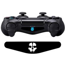 Wensoni Ghosts Skull DualShock 4 Lightbar Sticker
