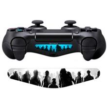 Wensoni March Of Zombies DualShock 4 Lightbar Sticker