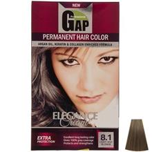 کيت رنگ مو گپ سري Ash مدل Light Ash Blnde شماره 8.1