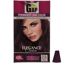 کیت رنگ مو گپ سری Mahagony Violet مدل Mahagony Violet شماره 7.5