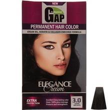 کيت رنگ مو گپ سري Natural مدل Dark Brown شماره 3.0