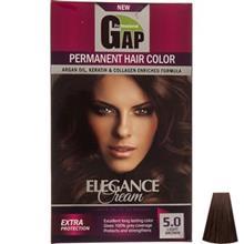 کيت رنگ مو گپ سري Natural مدل Light Brown شماره 5.0