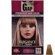 کيت رنگ مو گپ سري Natural مدل Lightest Blnd شماره 9.0