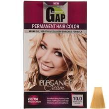 کيت رنگ مو گپ سري Natural مدل Super Light Blnd شماره 10.0