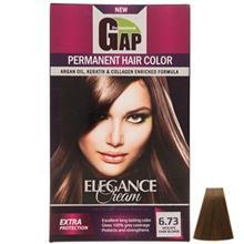 کيت رنگ مو گپ سري Nescafe مدل Dark Nscafe شماره 6.73