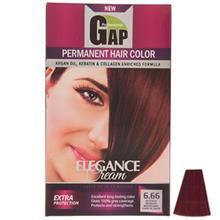 کيت رنگ مو گپ سري Red مدل Intense Reddigh Mahagony شماره 6.66