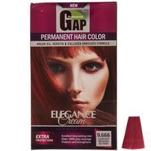 کيت رنگ مو گپ سري Red مدل Lightest Redish شماره 9.666