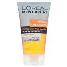 ژل پاک کننده صورت آقايان لورآل سري Men Expert مدل Hydra Energetic حجم 150 ميلي ليتر
