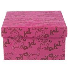 جعبه کادویی کلیپس مدل Hello Kitty Cube - سایز بزرگ