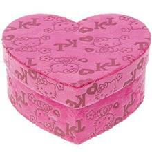 جعبه کادویی کلیپس مدل Hello Kitty Heart - سایز کوچک