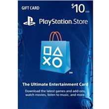 PlayStation 10 Dollars Gift Card
