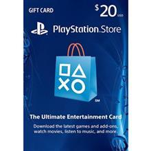 PlayStation 20 Dollars Gift Card