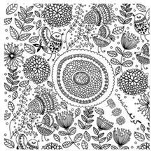 کادوپيچ پارچهاي گوشه طرح گل و بلبل