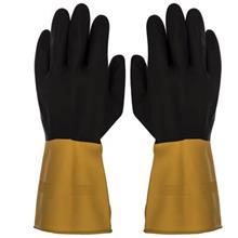 دستکش کار گیلان مدل سه لایه دو رنگ