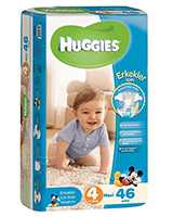 پوشک کودک 46 عددی هاگیز HG8004