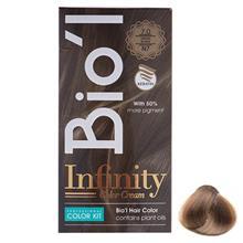 کيت رنگ موي Bio'l شماره 7.0 بلوند متوسط طبيعي