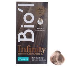 کیت رنگ موی Bio l شماره 8.1 بلوند دودی روشن
