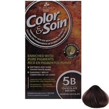 کيت رنگ مو کالر اند سوان سري Brown شماره 5B