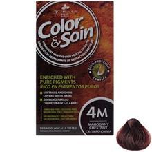 کیت رنگ مو کالر اند سوان سری Red شماره 4M