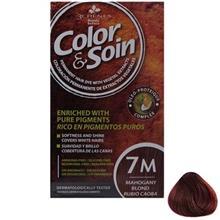 کيت رنگ مو کالر اند سوان سري Red شماره 7M