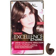 کيت رنگ مو لورآل شماره 5 Excellence