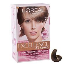 کيت رنگ مو لورآل شماره Excellence 7.1
